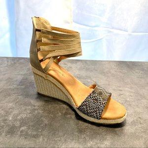 BEARPAW Wedge Sandals